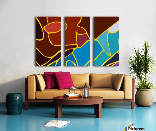 practical dream 21 Split Canvas print