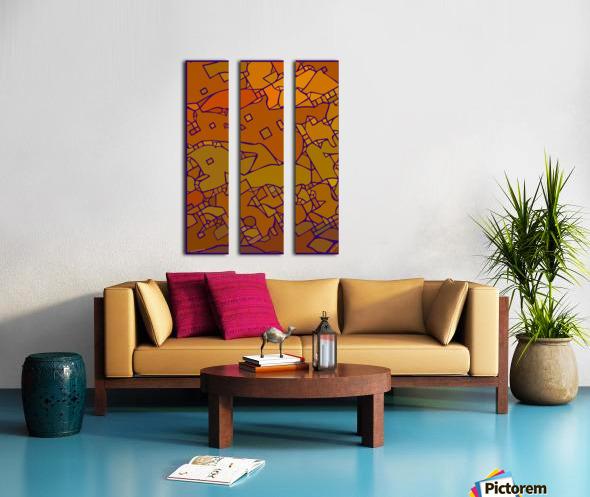 practical dream 31 Split Canvas print