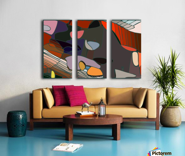 practical dream 47 Split Canvas print