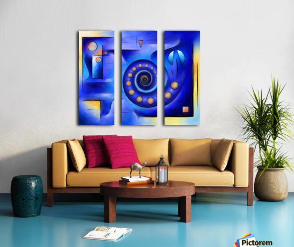 Grefenissa V1 - space art Split Canvas print