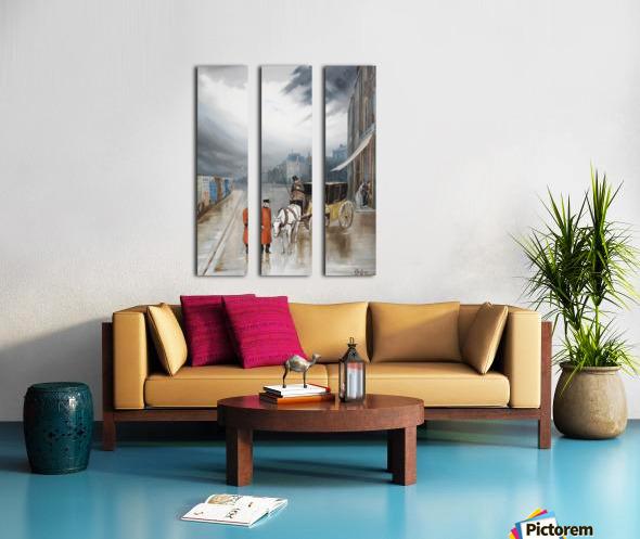 After rain - Chelsea Split Canvas print