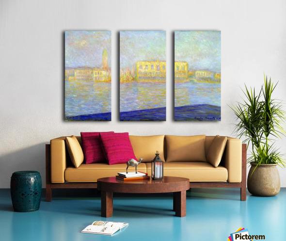 Monet Split Canvas print