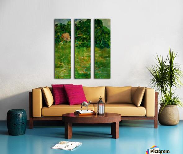 East Well Lake & Royalty Split Canvas print