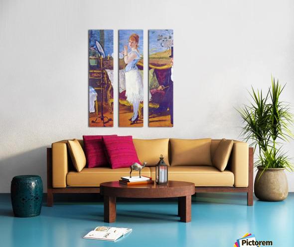 Nana by Manet Split Canvas print