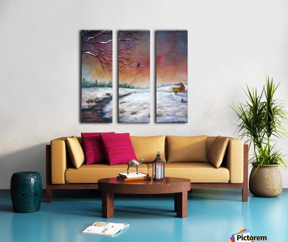 Coming Home Split Canvas print