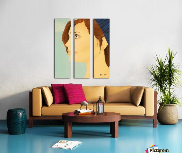 Euhoria Split Canvas print