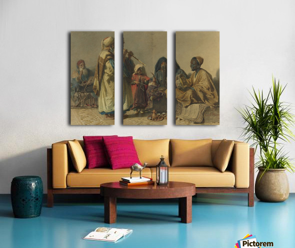 A party with music Split Canvas print