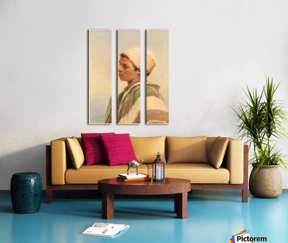 A Bedouin Boy Split Canvas print