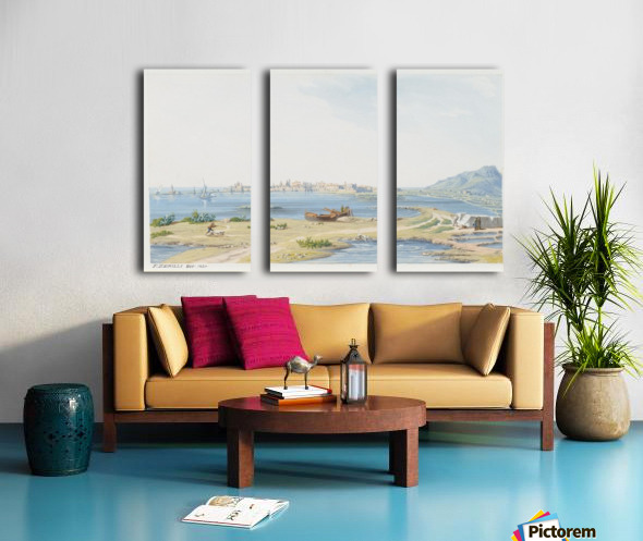 Trapani 1823 Split Canvas print