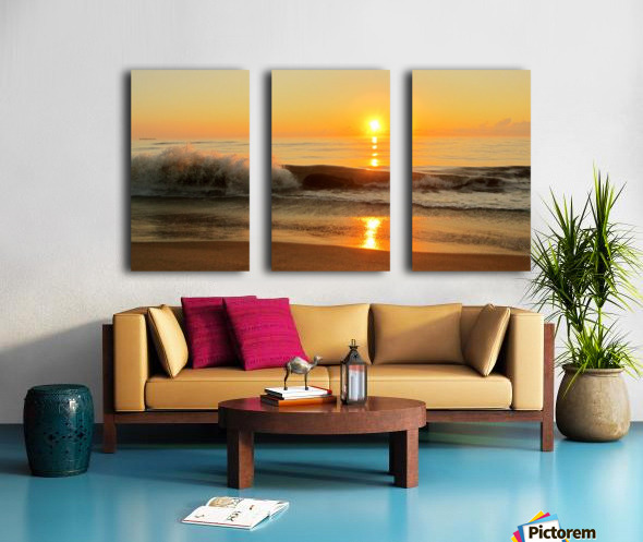 Ocean Rising Split Canvas print