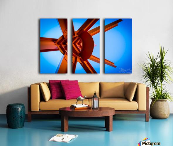 Abstract IV Split Canvas print