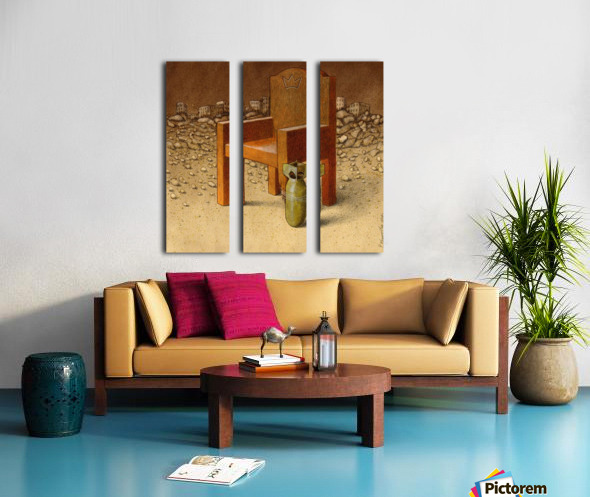 kingdom of destruction Split Canvas print