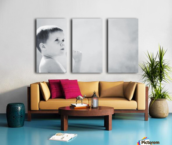 Expression Of A Child Split Canvas print