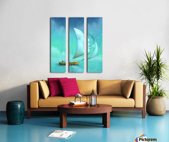 soul  Split Canvas print