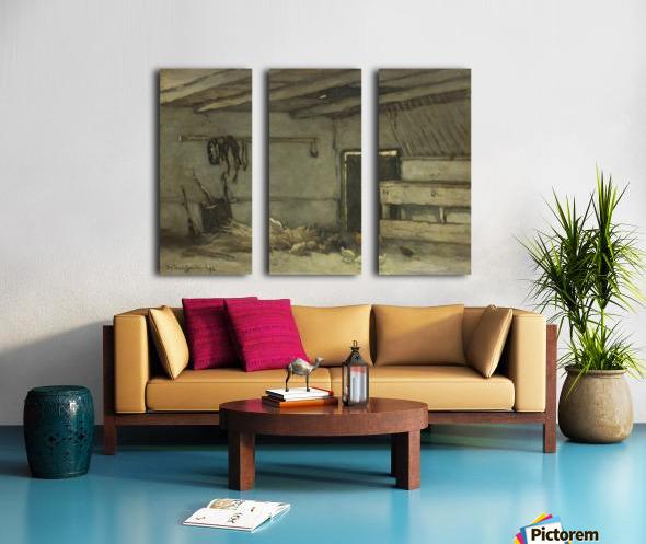 Stalinterieur Split Canvas print
