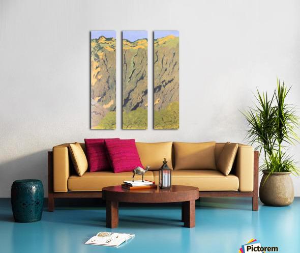 Cliffs by Felix Vallotton Split Canvas print