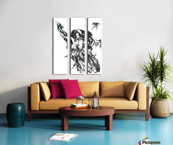 TribaVJO LADY Split Canvas print