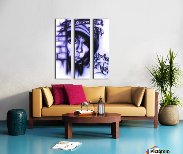 mos def Split Canvas print