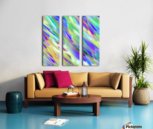 Colorful digital art splashing G401 Split Canvas print