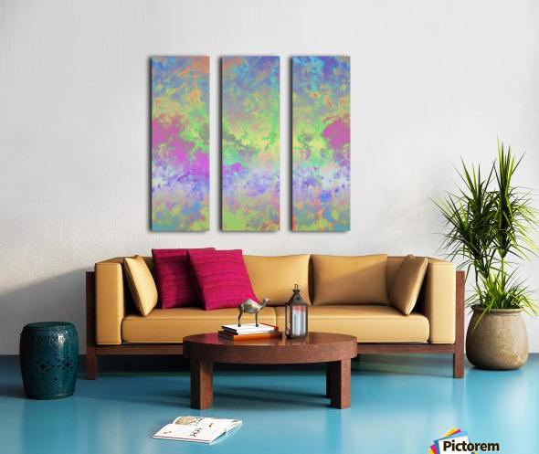 Colour Splash G211 Split Canvas print