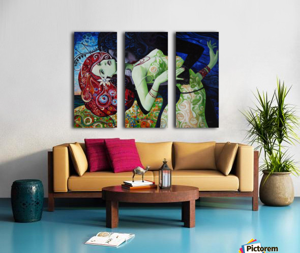 My Summer Wine Split Canvas print