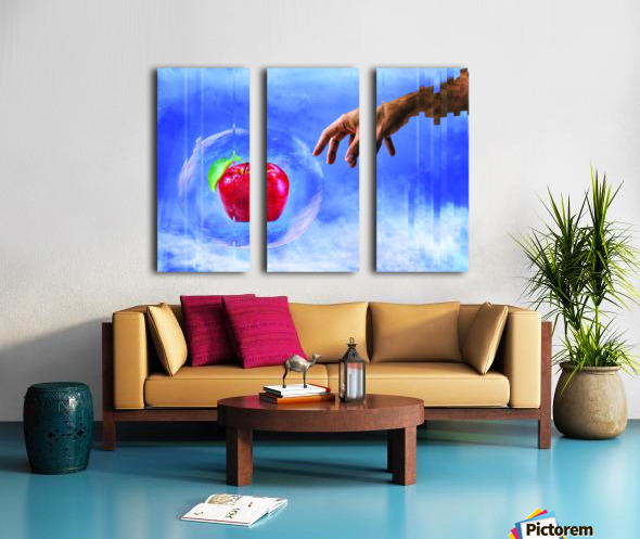 Temptation Split Canvas print