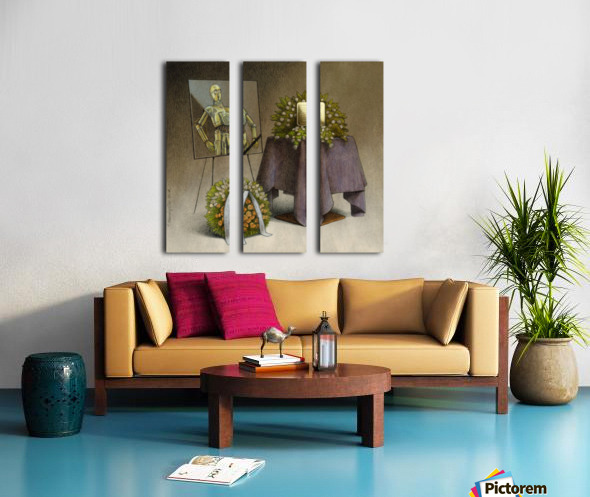 cremation Split Canvas print