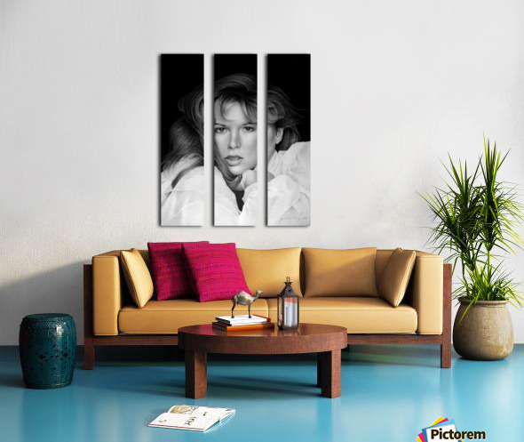 KIM BASINGER Split Canvas print