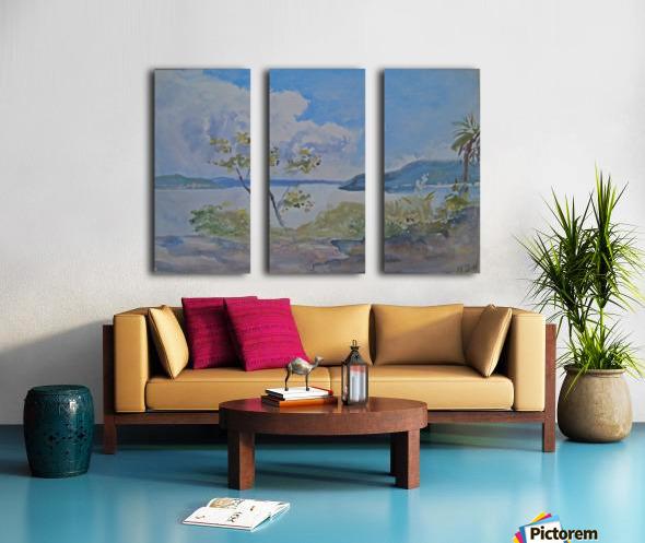 Lago Maggiore, Italy Split Canvas print