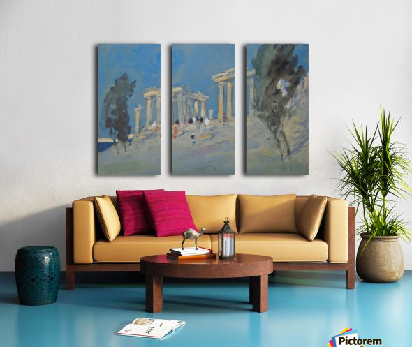 Paestum, Italy Split Canvas print