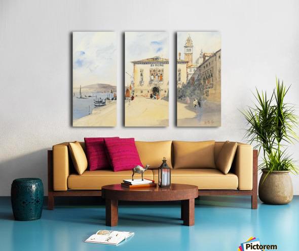 Murano, near Venice Split Canvas print