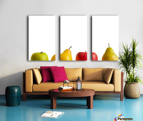 Apples And Pears Split Canvas print