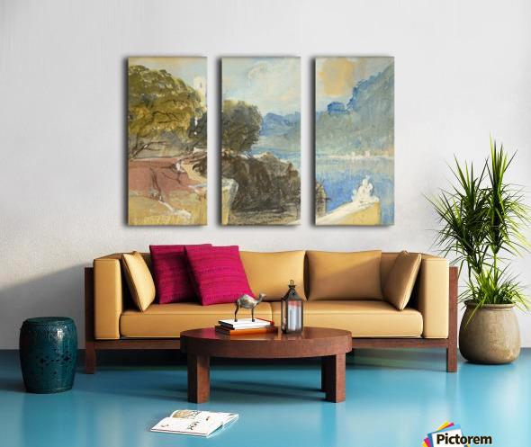 Villa-Arson Split Canvas print