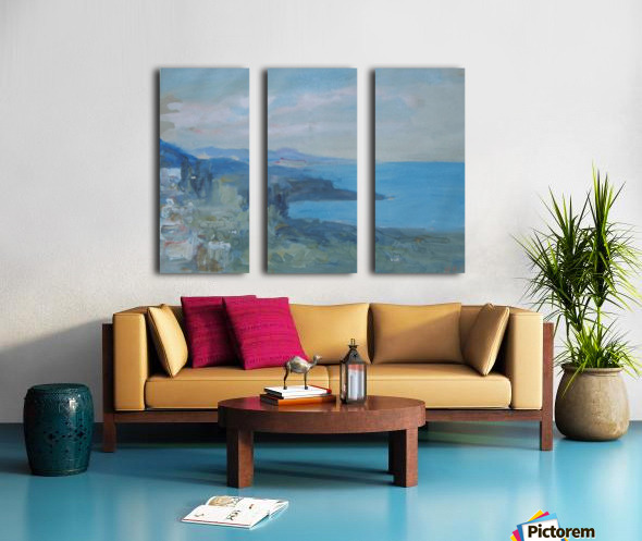 On the Riviera, France Split Canvas print