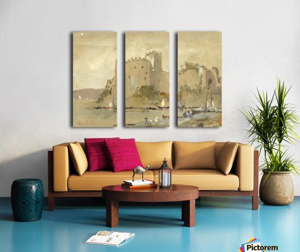 Chepstow Castle Split Canvas print
