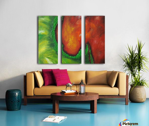 Cosmos creation 2 Split Canvas print