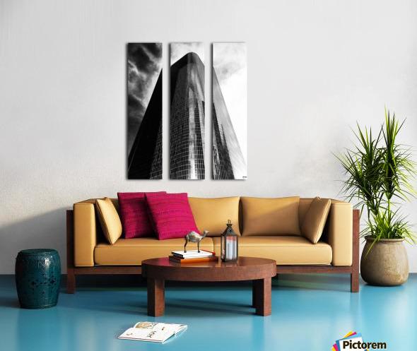 CORPORATE NIGHTMARES II Split Canvas print