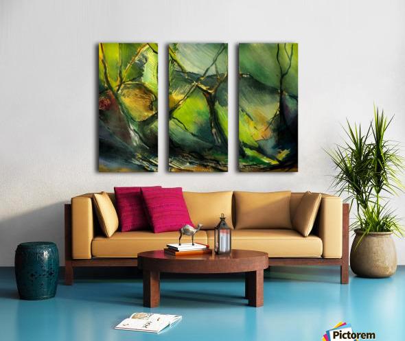 Inner landscape  Split Canvas print