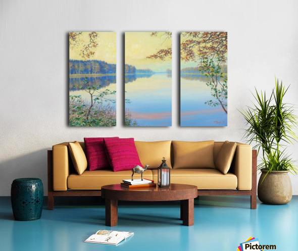 Smooth Split Canvas print