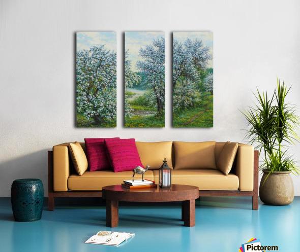 Belakvet Split Canvas print
