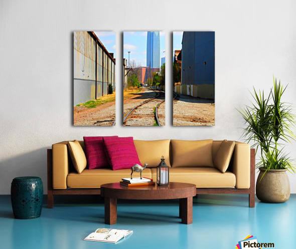 Rails2Jails- Original Split Canvas print
