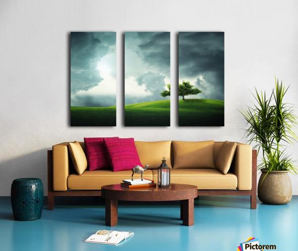Lonely tree Split Canvas print