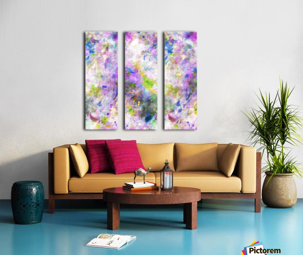 Colour Splash G260 Split Canvas print