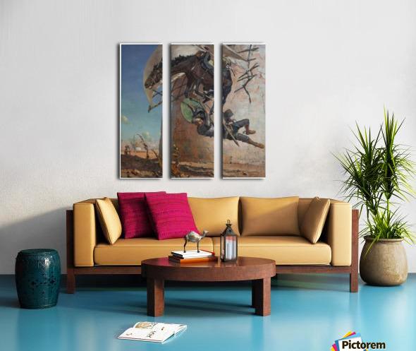 Don Qujiote Split Canvas print
