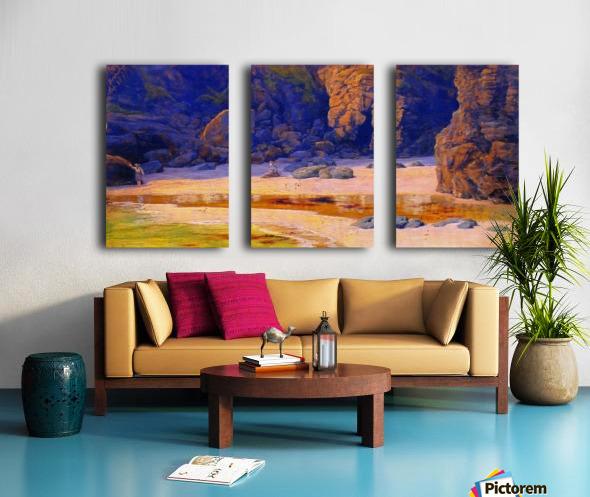 Housel Split Canvas print