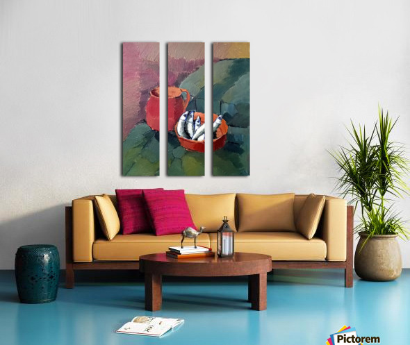 f458 Split Canvas print