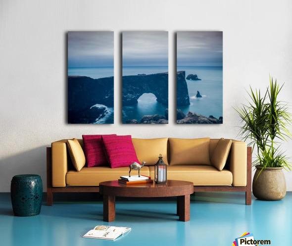 Dyrhólaey Split Canvas print