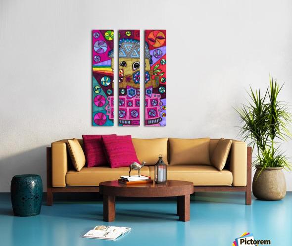 RESIST 4 Split Canvas print