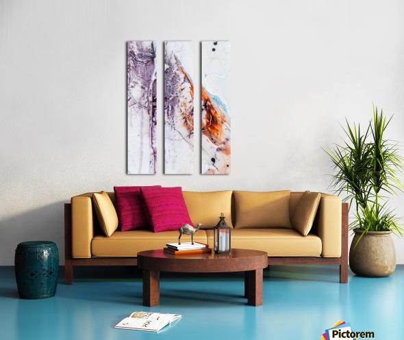 Sophia Cinq Split Canvas print