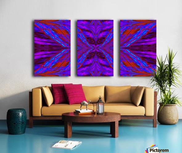 Butterflies For Anastacia 2 Split Canvas print